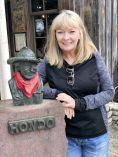 Jan with Hondo