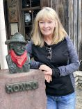 Jan with Hondo
