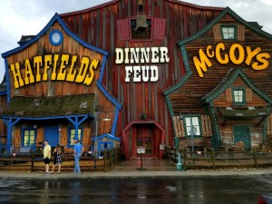 Outside of Hatfield & McCoys