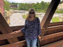 Jan on bridge