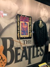 The Beatles display