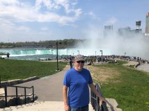 Phil at Horseshoe Falls