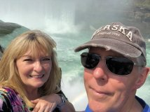 Jan and Phil at Horseshoe Falls