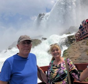 Phil & Jan at American Falls