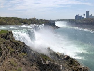 American Falls from Observation Deck