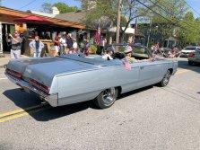 Veterans in classic car