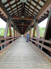 Phil on bridge
