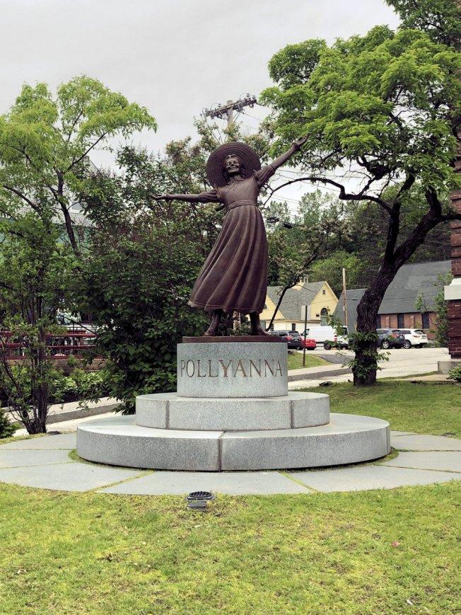 Pollyanna sculpture