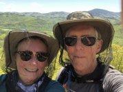 Jan and Phil at summit