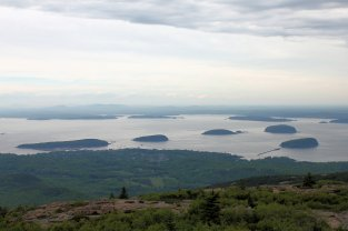 View from Cadillac Mountain summit