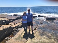 Jan & Jasson at Schoodic Point