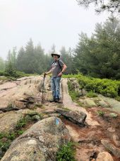 Phil on Bald Mountain Trail