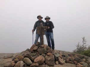 Phil & Jan at Parkman Mountain summit