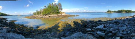Panorama of Alaska Cove