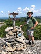 Phil near summit