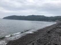 Jasper Beach shoreline