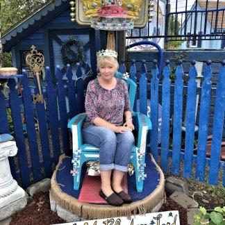 Jan as Blueberry Queen