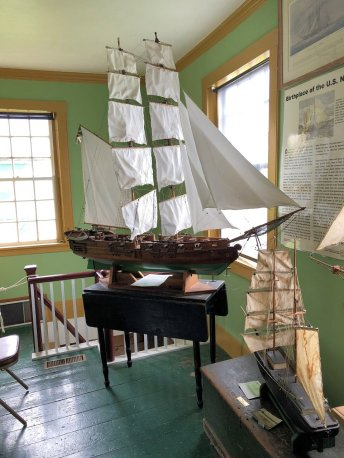 Models of Margaretta & Unity from Battle of Machias