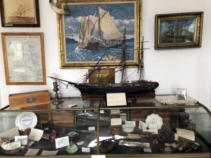 Memorabilia in Marine Room