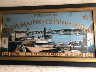 Bath, Maine sign
