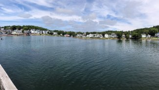 Panorama of Boothbay Harbor