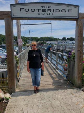 Jan at The Footbridge