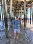 Phil under the pier