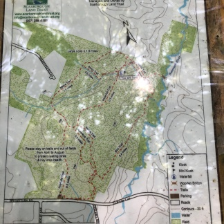 Fuller Farms trail map