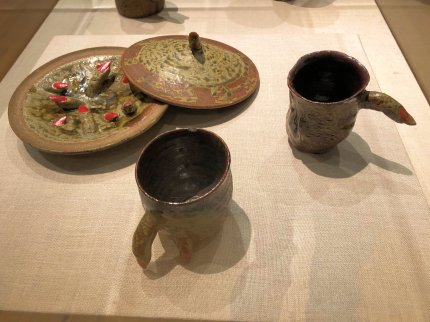 Finger Bowl and Cups
