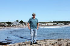 Phil at Gooch's Beach