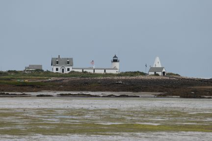 Lighthouse on Goat Island