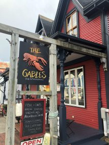 Front of The Gables Restaurant