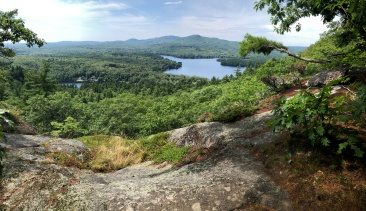 View from Mt. Megunticook Trail