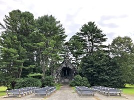 Outdoor shrine at monastery