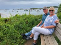 Phil and Jan at Cape Porpoise