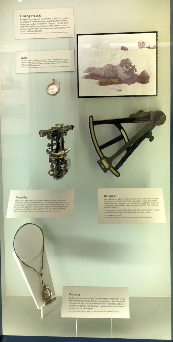 Instruments used in journeys to the North Pole