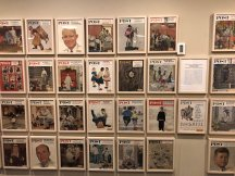 Some of Rockwell's Saturday Evening Post covers