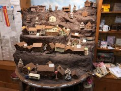 Chocolate village