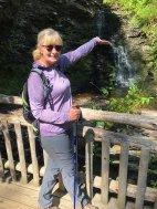 Jan at Bridesmaid's Falls