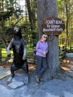 Jan with bear
