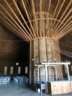 Upper level of Round Barn