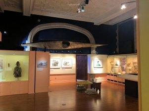 Inside Peary-MacMillan Arctic Museum