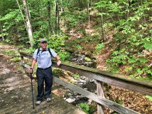 Phil on trail