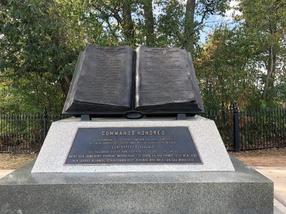 Monument honoring Union soldiers who repulsed Pickett's Charge