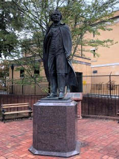 Statue of Andrew Johnson