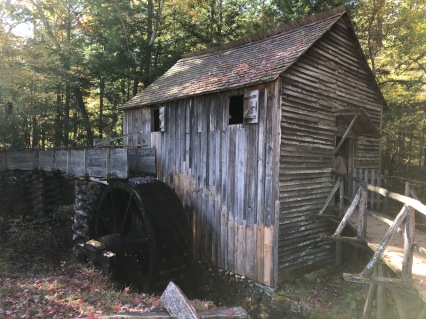 Working grist mill on its original site