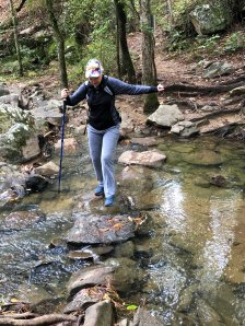 Jan crossing creek
