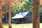 Carter Shields cabin, built in 1910