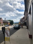 View from downtown Frostburg