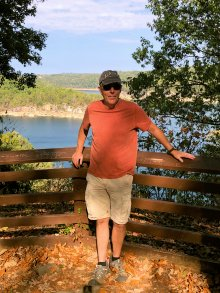 Phil at Long Point Overlook